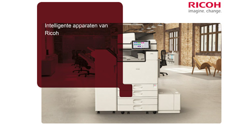 Brochure over de intelligente apparaten van Ricoh